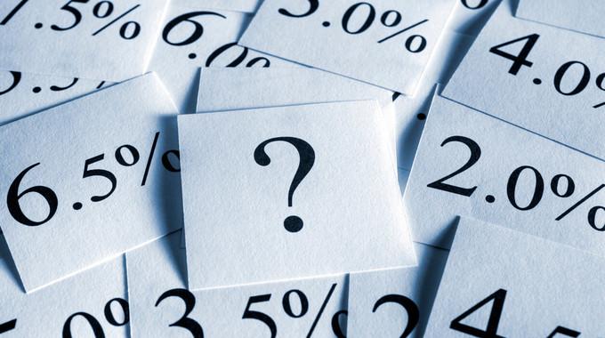 Effektiver Jahreszins: Das Fragezeichen beim Jahreszins